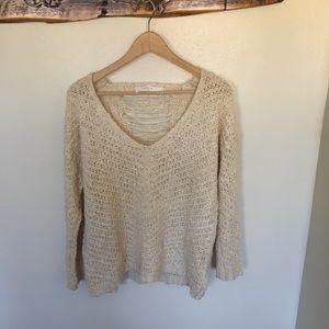 Sweaters - Cream ASTR Sweater